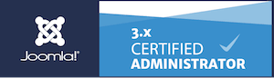 3x certified administrator badge
